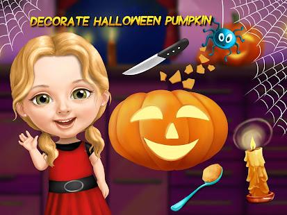 Sweet Baby Girl Halloween Fun 11