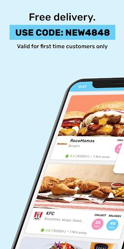 Mr D Food - delivery & takeaway 4.6.4 screenshots 1