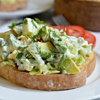 Avocado and Bacon Egg Salad