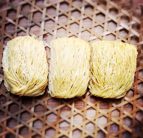 chinese, egg noodle, jook sing noodle, noodles, recipe, shrimp roe, recipe