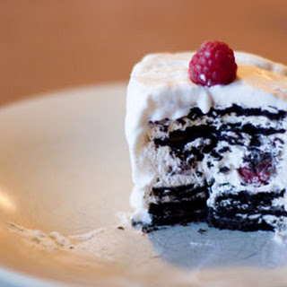 Chocolate Raspberry Icebox Cakes