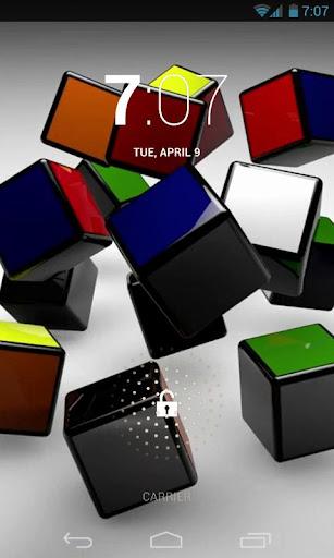 Cube Puzzle Animation LiveWP