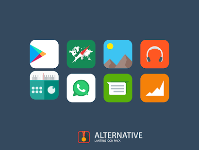 Lanting Icon Pack: Material and Colorful Screenshot