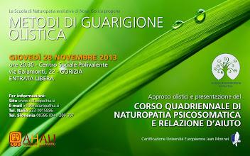 Foto: Metodi di Guarigione Olistica. 28 novembre 2013 a Gorizia