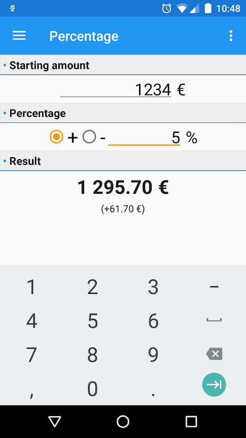 MajoReduc - Percentages Calculator & Sales- screenshot