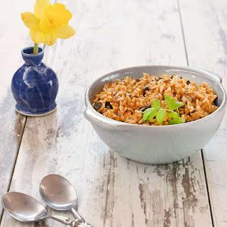 Vegan Instant Pot Dirty Rice.