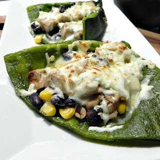Mexican Stuffed Poblano Peppers.