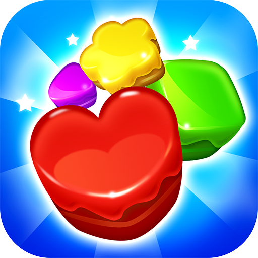 Cookie match 3 puzzle game