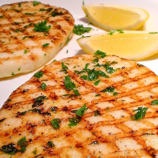 Grilled Calamari Steaks Recipe
