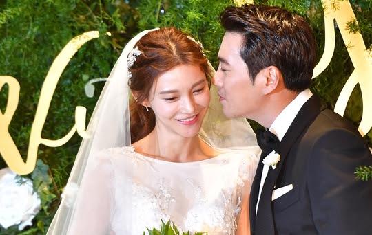 Ju Sanguk Cha Ye-Ryun wedding