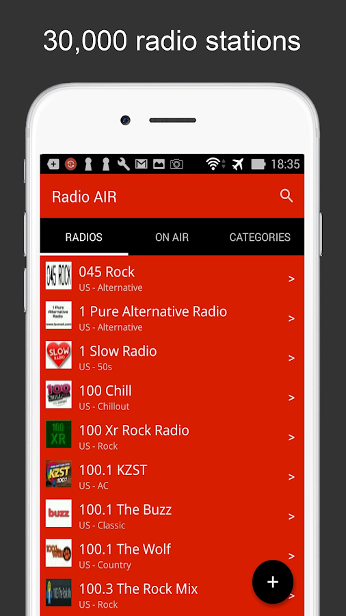 Radio AIR- screenshot