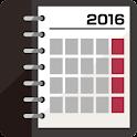Smart Calendar 2016 +Colorful icon