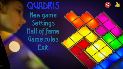 Quadris - colored bricks|玩解謎App免費|玩APPs