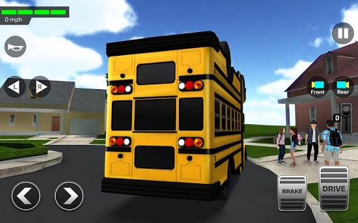 Super High School Bus Driving Simulator 3D - 2020 apkdebit screenshots 1