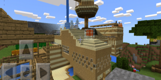 World Adventure Map for Minecraft PE for PC