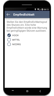 Fall Detection - Fallalarm rettet Leben Screenshot