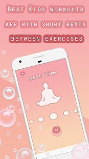 Download Workout for Kids : Make Home Fitness exercices Fun For PC Windows and Mac apk screenshot 5