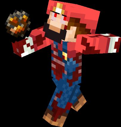 Iron Shovel Minecraft Zombie Mario | Nova Sk...