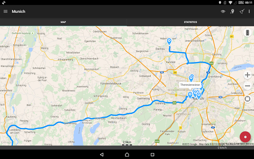 Geo Tracker - GPS tracker  screenshots 8