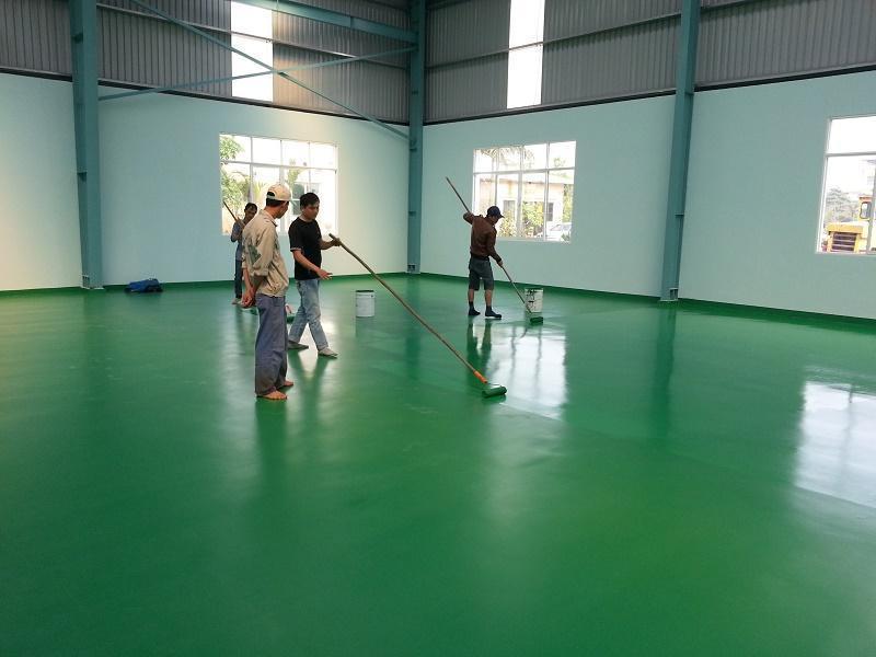 Biện pháp thi công sơn epoxy như thế nào đạt hiệu quả?