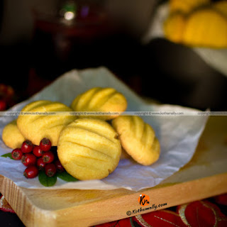 Custard Cookies Recipe, Eggless Custard Cookies