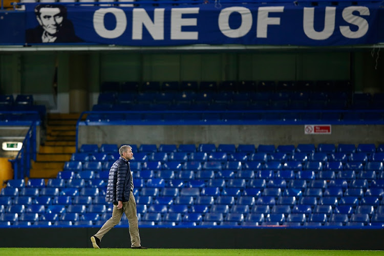 Chelsea owner Roman Abramovich after a match at Stamford Bridge in London, England. Picture: CLIVE ROSE/GETTY IMAGES