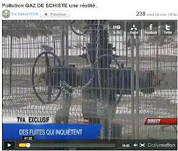 Photo: Des fuites qui inquiètent...http://www.dailymotion.com/video/xicztb_pollution-gaz-de-schiste-une-realite_news