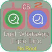 Chat GBWhatsApp Plus Dual  2017 Guide