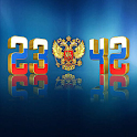 Russia Digital Clock icon