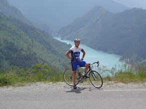 Photo: Craig near Demandolx, above the Lac de Chaudanne