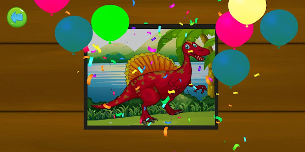 Download Dinosaur Puzzle : Jigsaw kids Free Puzzles game For PC Windows and Mac apk screenshot 7