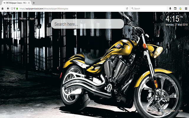 Motorcycles Wallpapers HD New Tab Theme