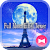 Beautiful Wallpaper Full Moon Eiffel Tower Theme file APK Free for PC, smart TV Download