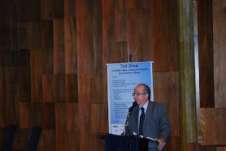 Photo: Marcos Cintra durante sua apresentação