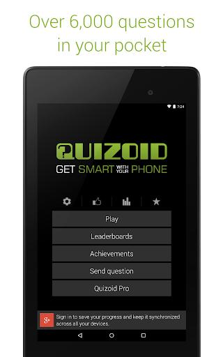玩免費益智APP|下載Quizoid: Trivia Quiz 2016 app不用錢|硬是要APP