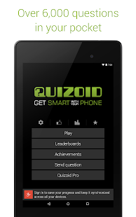 Quizoid: Trivia Quiz 2015- screenshot thumbnail