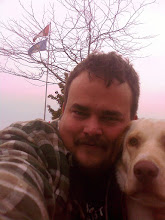 Photo: Taking a photo of yourself, with a dog, by yoursef, is harder than it looks --- Why won't Sandy smile for me???