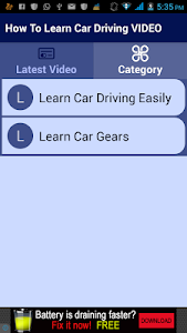 How To Learn Car Driving VIDEO screenshot 2