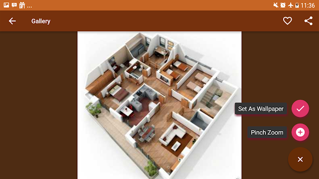Home Design 3D For Free Poster