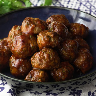 Sweet Spicy Meatballs