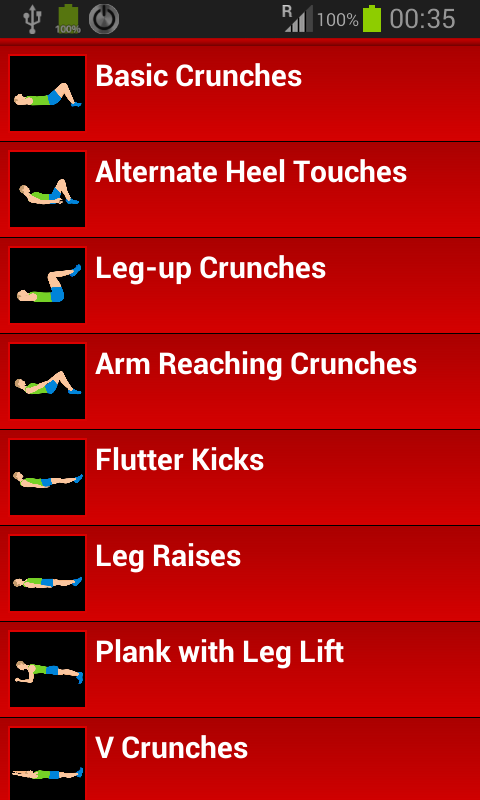 30 day abs workout challenge   android apps on google play
