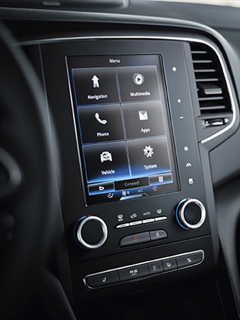 We have become more familiar with the tablet-like infotainment system. Picture: QUICKPIC