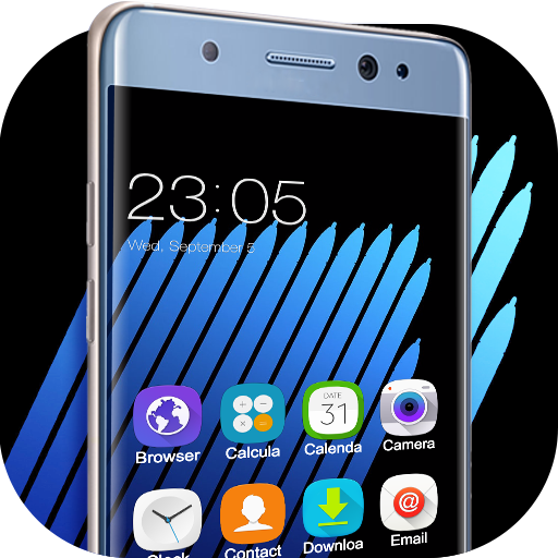 Theme for Samsung Galaxy Note 7 HD