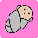 Baby care - guide + white noise sleep sounds icon
