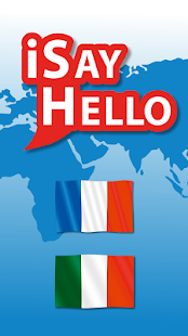 iSayHello French - Italian- screenshot thumbnail