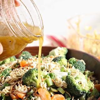 Ramen Noodle and Clementine Salad.