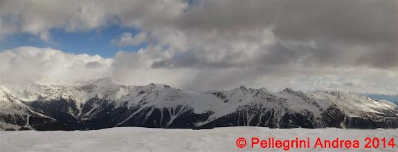 Photo: Panorama 11 monti sopra Cogolo da Cima Forzellina