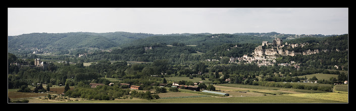 Photo: Beynac y Milandes desde Castelnaud