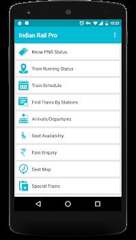 Indian Rail Info App PRO