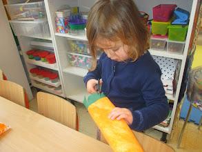 Photo: we maken een lange wortel